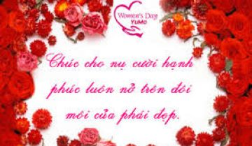 Chúc mừng ngày Quốc tế phụ nữ 08/03/2012