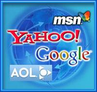 MSN - Yahoo - Google - AOL