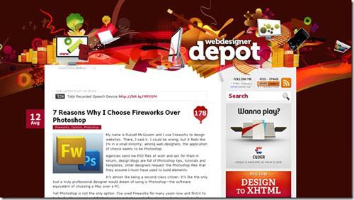 Thiết kế website đẹp - mẫu 1