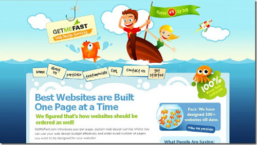 Thiết kế website đẹp - mẫu 10