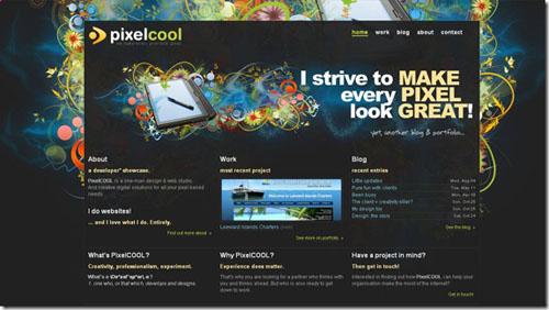 Thiết kế website đẹp - mẫu 5