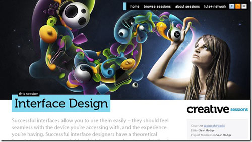 Thiết kế website đẹp - mẫu 6