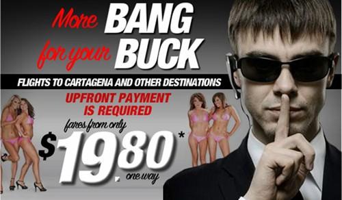 Quảng cáo bằng sex - Bang Buck