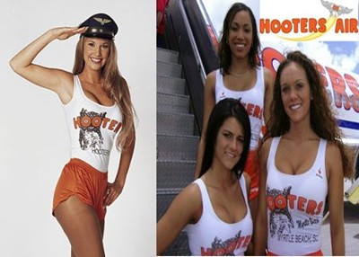 Quảng cáo sex - Hooters Airlines