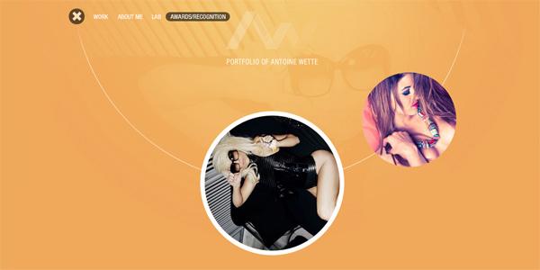 Mẫu thiết kế web sáng tạo 2011 - Aw-digital.com
