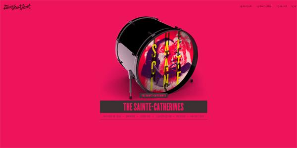 Mẫu thiết kế web sáng tạo 2011 - Deuxhuithuit.com