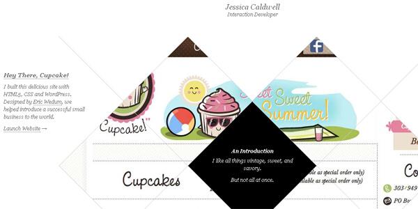 Mẫu thiết kế web sáng tạo 2011 - Jtcdesign.com
