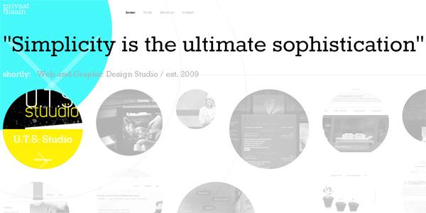 Mẫu thiết kế web sáng tạo 2011 - Privaatdisain.ee