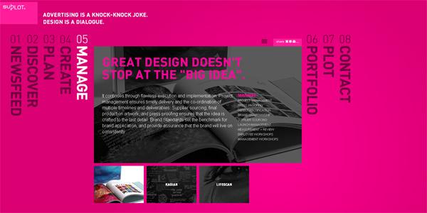 Mẫu thiết kế web sáng tạo 2011 - Subplot.com