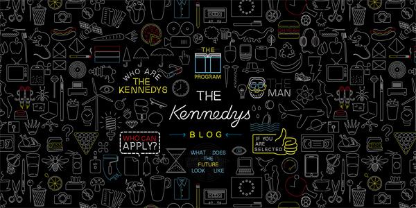 Mẫu thiết kế web sáng tạo 2011 - Thekennedys.nl