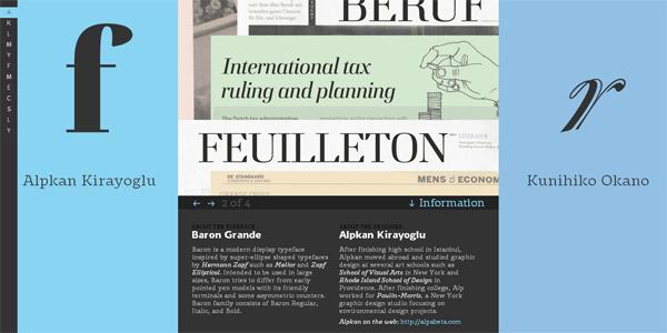 Mẫu thiết kế web sáng tạo 2011 - Typemedia2011.com