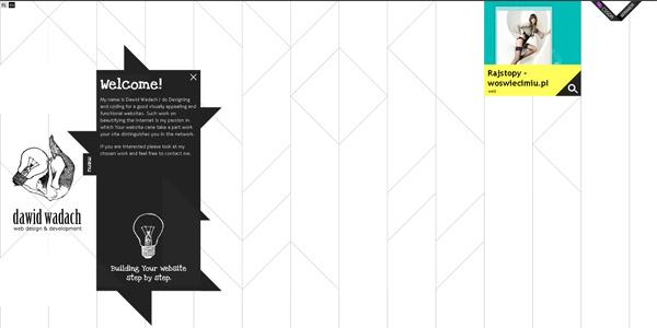 Mẫu thiết kế web sáng tạo 2011 - Wadach.com