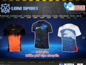 Thiết kế web Loni Sport