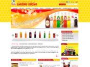 Thiết kế web Nước giải khát Chương Dương