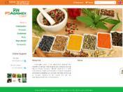 Thiết kế web PSAGRIMEX CORP