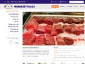 Thiết kế web Minh Kiệt Food
